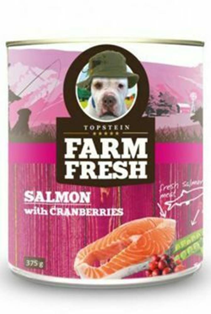 Farm Fresh Farm Fresh Dog Salmon with Cranberries konzerva 750g