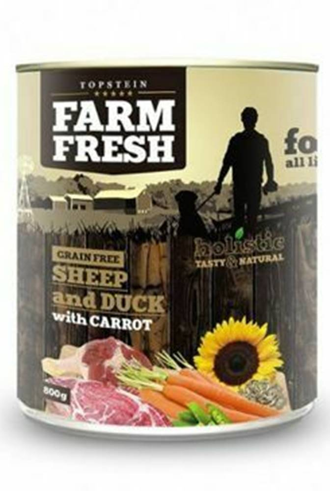 Farm Fresh Farm Fresh Dog Sheep&Duck with Carrot konzerva 800g