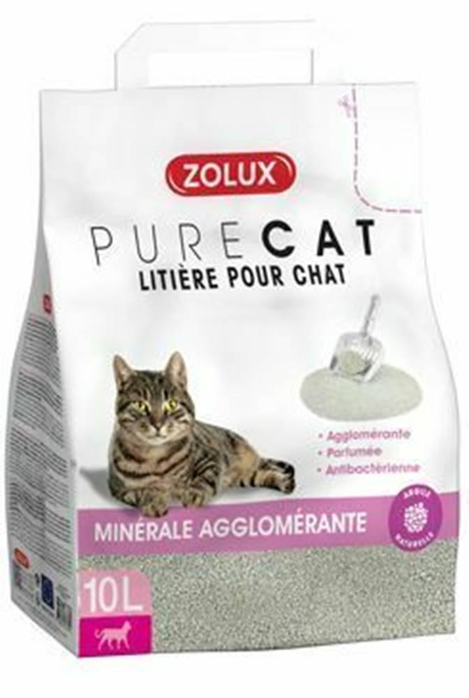 Zolux Podstielka PURECO antibacterial scent Clump 10l Zolu