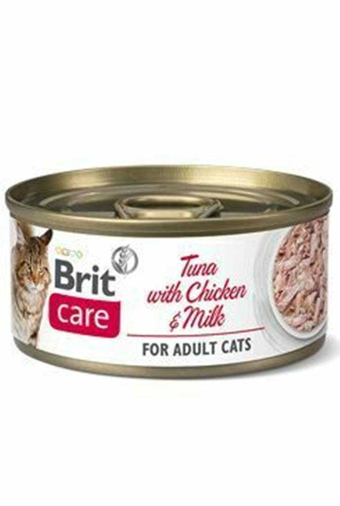 Brit Care Brit Care Cat konz Fillets Chicken&Milk 70g