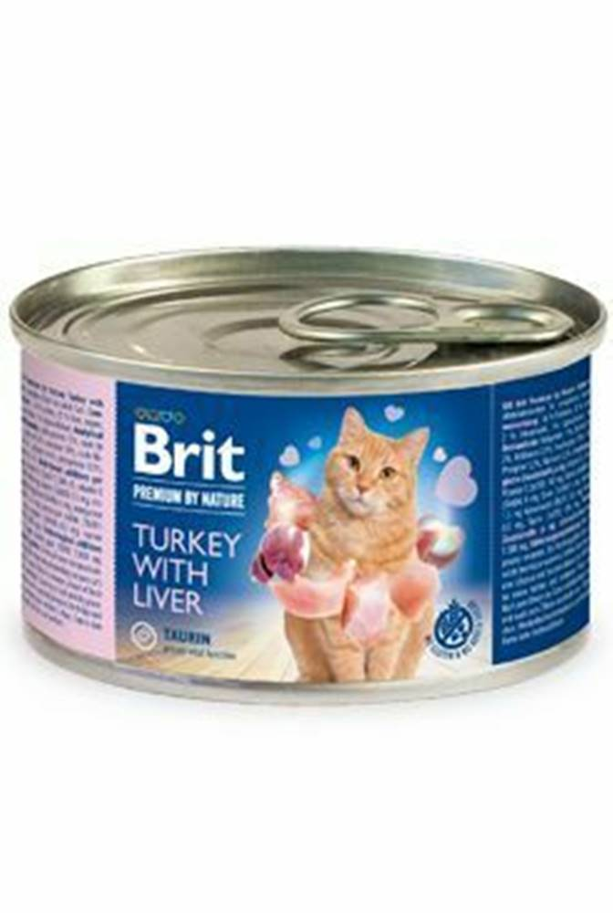 Brit Premium Brit Premium Cat by Nature konz Turkey&Liver 200g