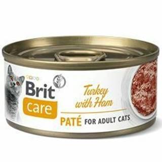 Brit Care Cat konz  Paté Turkey&Ham 70g