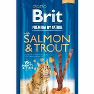 Brit Premium Cat by Nature Sticks Salmon&Trout(3pcs)
