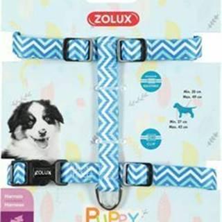 Obojok pes šteňa PIXIE nastaviteľný modrý 13mm Zolux