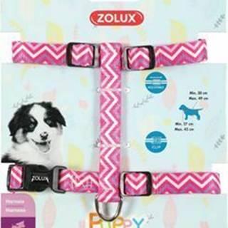 Obojok pes šteňa PIXIE nastaviteľný ružový 13mm Zolux