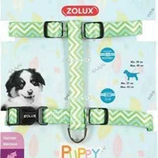 Obojok pes šteňa PIXIE nastaviteľný zelený 13mm Zolux