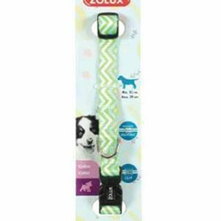 Obojok pes šteňa PIXIE nastaviteľný zelený 8mm Zolux