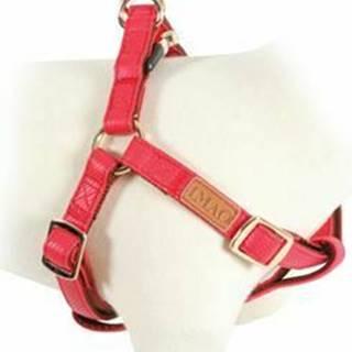 Postroj pes MAYFAIR nastaviteľný červený 15mm Zolux