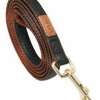 Vodítko pes MAYFAIR čierna 20mm 1,2m Zolux