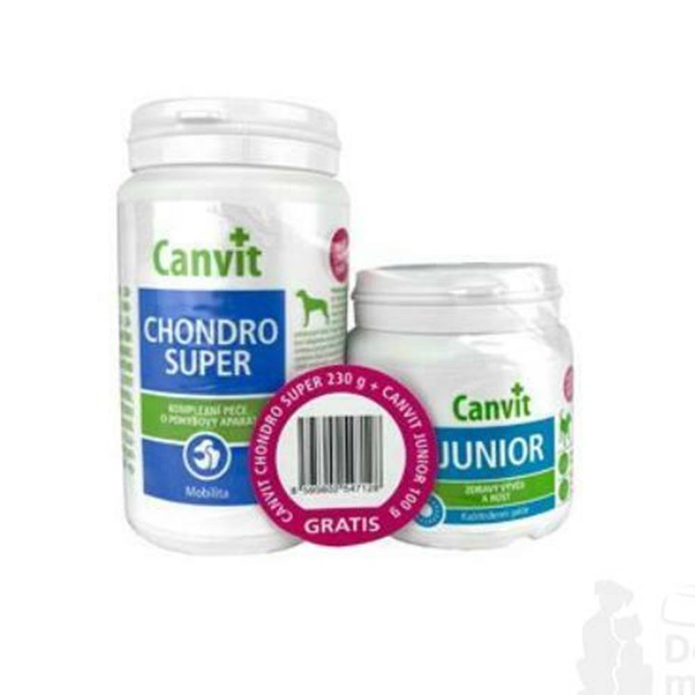 Canvit Canvit Chondro Super 230g + Canvit Junior pre psov 100g