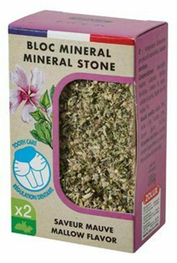 Zolux Minerálne kameň EDEN hlodavcami slez 2x200g Zolux