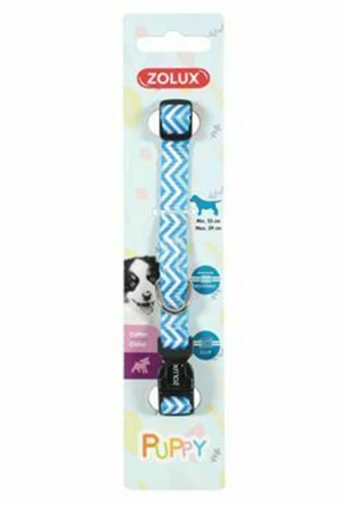 Zolux Obojok pes šteňa PIXIE nastaviteľný modrý 8mm Zolux