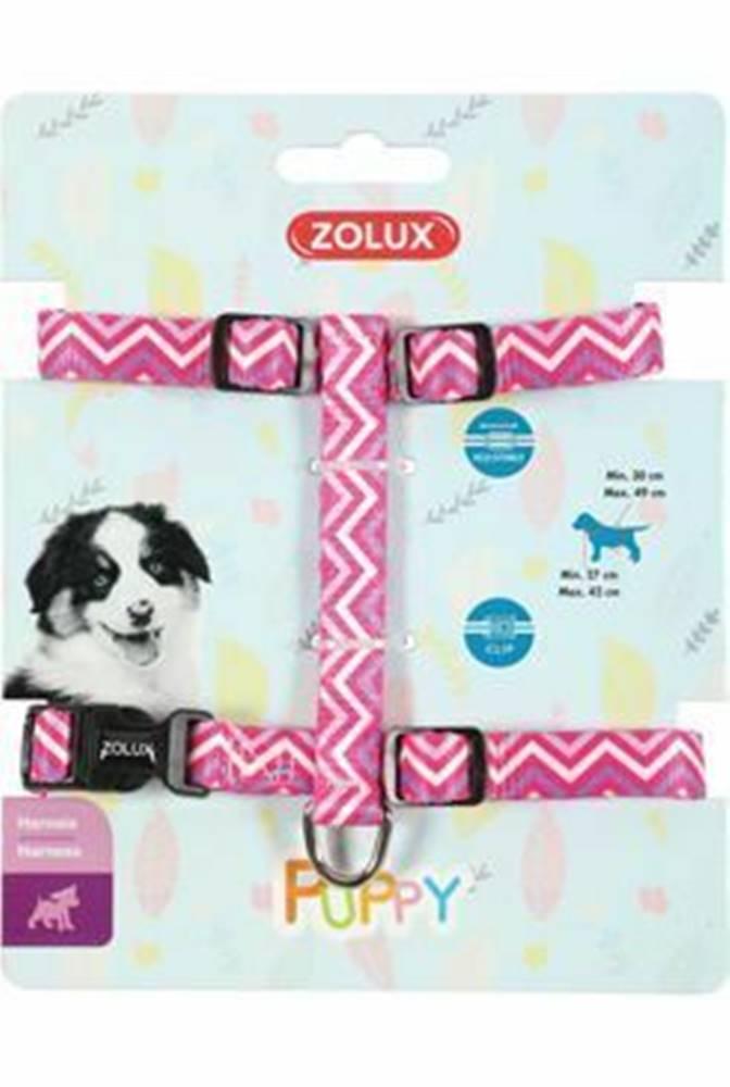 Zolux Obojok pes šteňa PIXIE nastaviteľný ružový 13mm Zolux