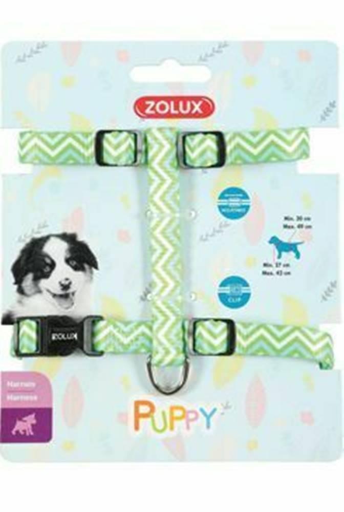 Zolux Obojok pes šteňa PIXIE nastaviteľný zelený 13mm Zolux