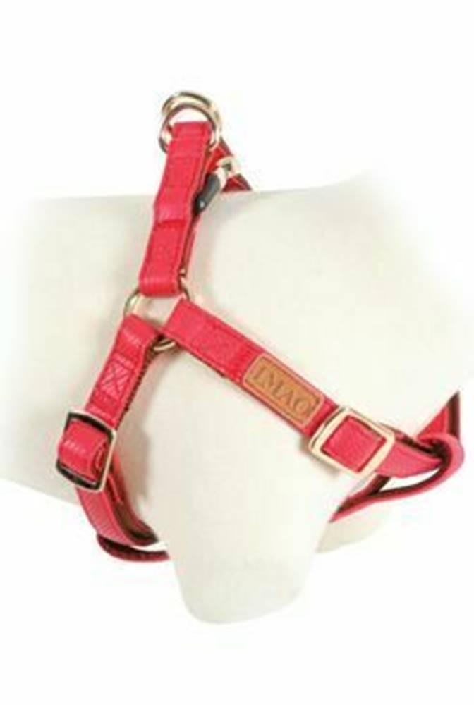 Zolux Postroj pes MAYFAIR nastaviteľný červený 15mm Zolux