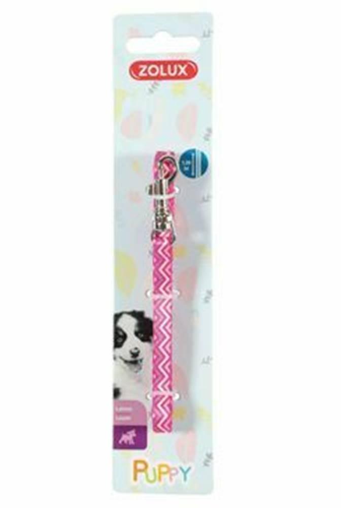 Zolux Vodítko pes šteňa PIXIE ružová 13mm 1,2m Zolux